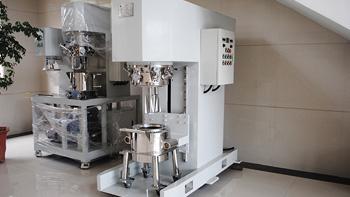 Vertical kneader machine performance characteristics