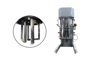 Double planetary mixer for producing adhesives & sealants