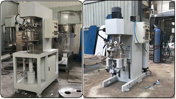 Appearance improvement of lab scale double planetary mixer