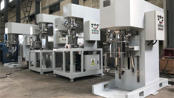 YINYAN offers construction glue planetary mixer and complete production line