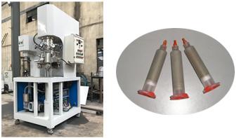 YINYAN dual planetary mixer for mixing conductive adhesive