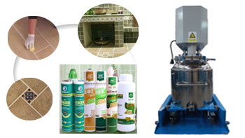 Sealant mixer machine and complete production plant from Wuxi YINYAN