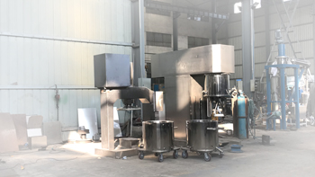 Successful delivery of 100L double planetary mixer and extruder machine from Wuxi YINYAN