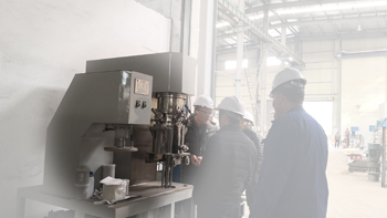 Test of YINYAN double planetary mixer for mixing battery silver slurry