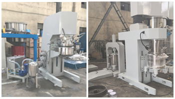Successful delivery of 30L double planetary mixer and hook type planetary mixer