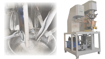 Application of YINYAN double planetary mixer in ink resin' industry