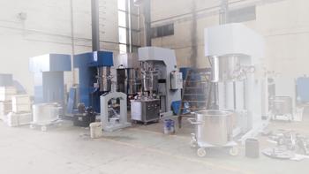 YINYAN customized dual planetary mixer machine