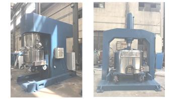 YINYAN high viscous paste mixer and matching extruder machine