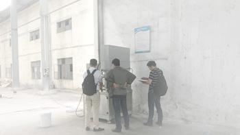 Customer experiment --- using YINYAN vacuum dual planetary mixer for mixing paste material