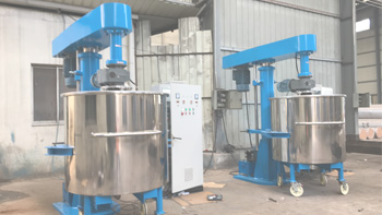 Successful delivery of YINYAN coating dual shaft mixer