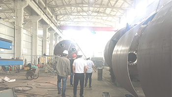 Customer visit and consulting new material planetary mixing equipment