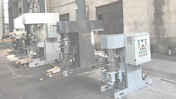 New material slurry manufacturer visiting Wuxi YINYAN factory