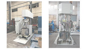 Short introduction of YINYAN multi-functional dual shaft mixer and dual planetary mixer