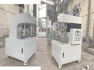 Successful delivery of YINYAN 2L lab scale dual planetary mixer with extruder