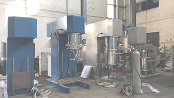 Customer coming to YINYAN and asking cheese sauce mixing equipment