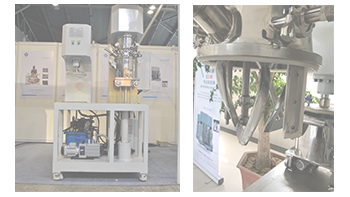 The requirements of dual planetary mixer for making gel paste