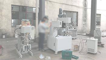 YINYAN dual planetary mixer in new materials' application