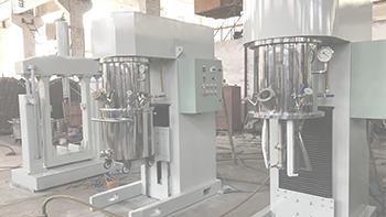 YINYAN dual planetary mixer's application in electric sealant mixing