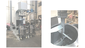 YINYAN customized multi-functional hydraulic lifting type glue mixer