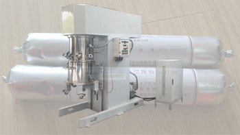 YINYAN caulk sealant disperser power mixer- vertical planetary vacuum mixer