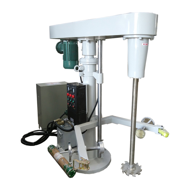 Hydraulic lifting high-speed disperser