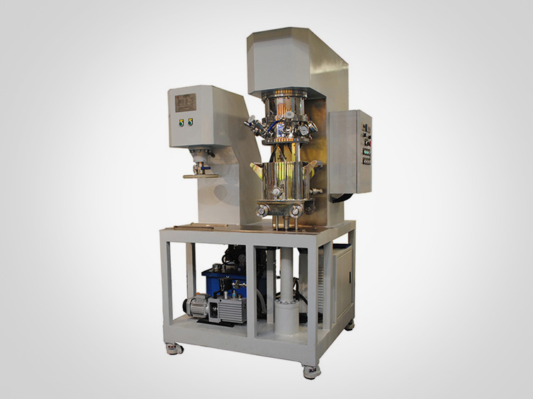 Lab dual planetary mixer machine