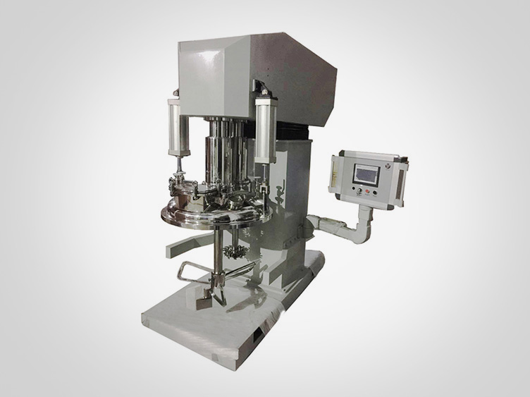 Dual-shaft multi-functional mixer (butterfly type)