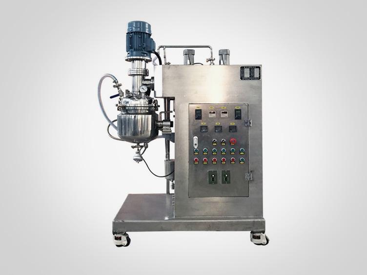 Lab vacuum homogenizing & emulsifying Mixer