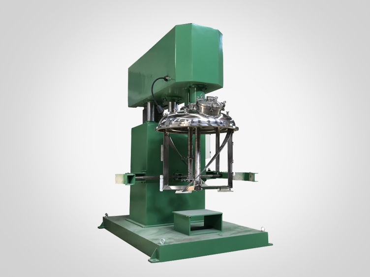 Dual-shaft multi-functional mixer (ribbon type)
