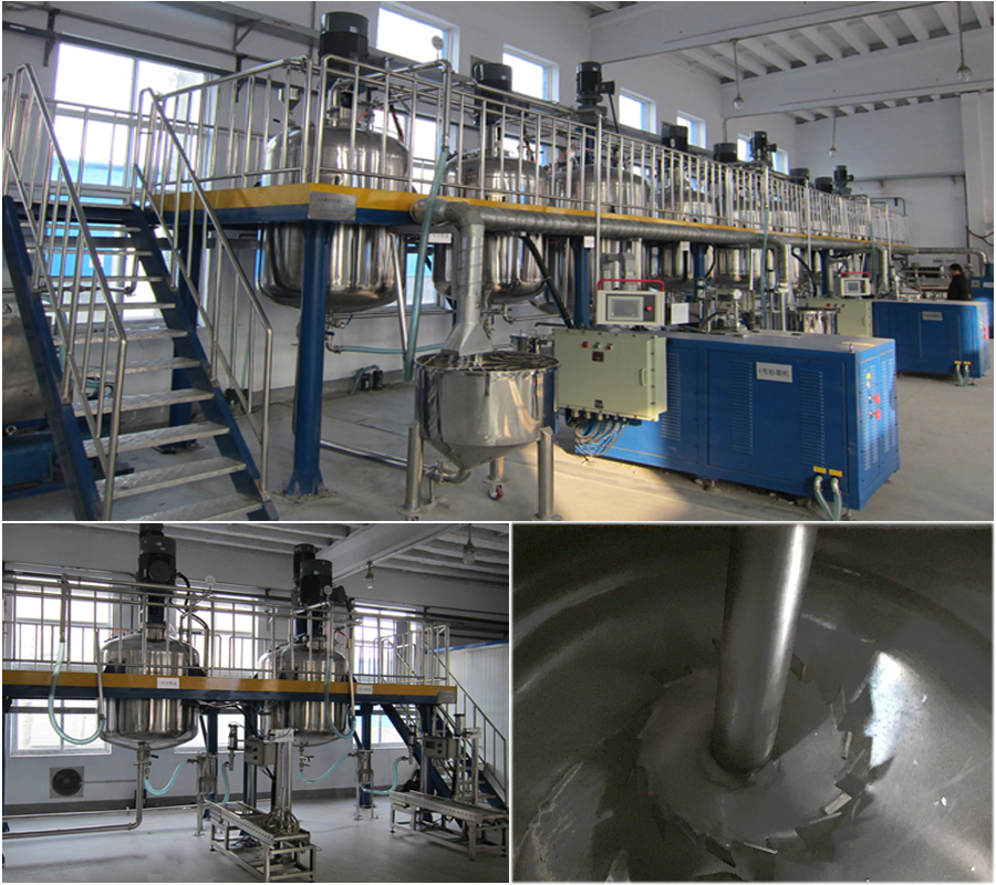 Solvent-based paint complete production line