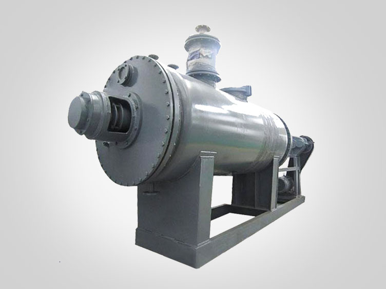 Rake type vacuum dryer machine