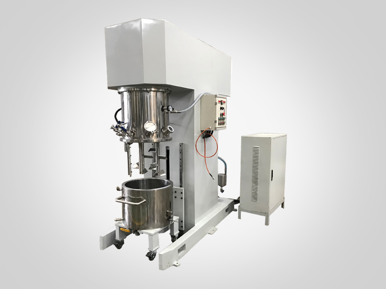 100L double planetary mixer with paddle type agitator
