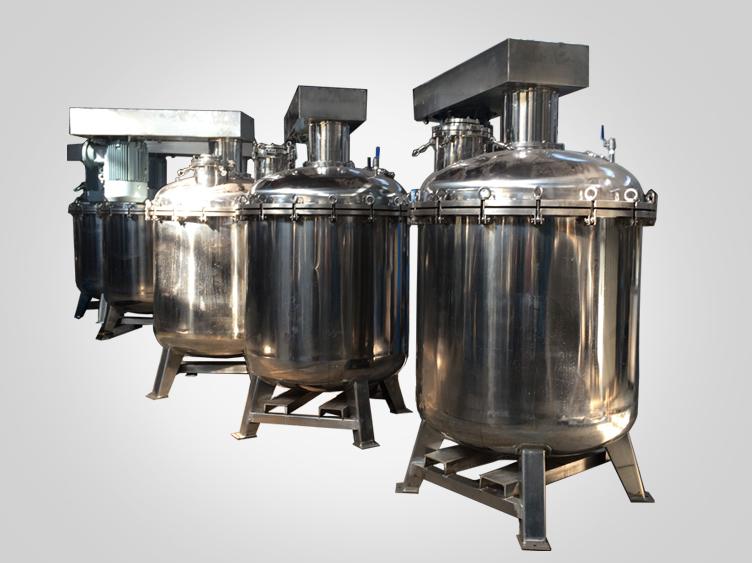 Dispersing mixing vessel