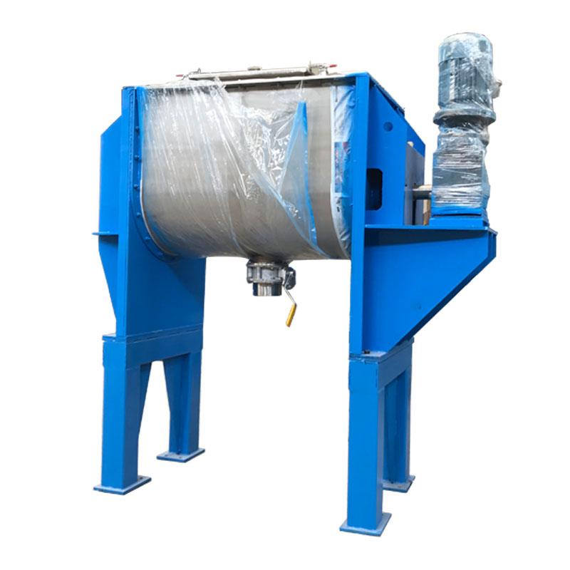 Horizontal non-gravity mixer