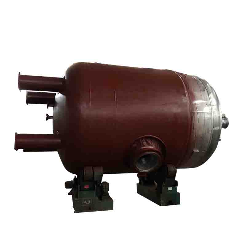 Gas mixing reactor with pressure