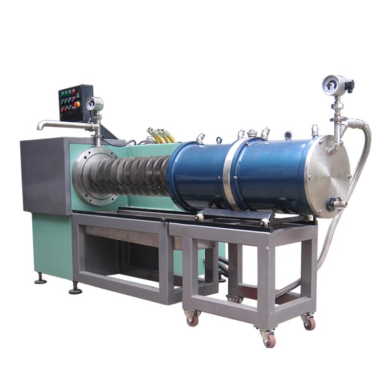 Disk type horizontal sand mill grinding machine