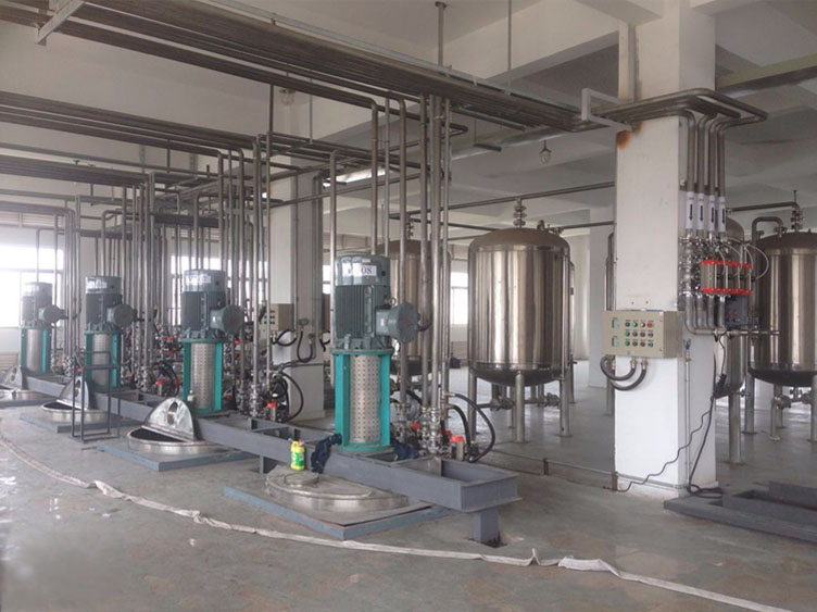 Printing inks complete production line