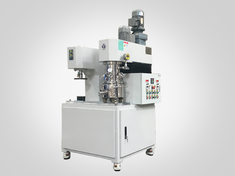 Customized lab scale double planetary mixer
