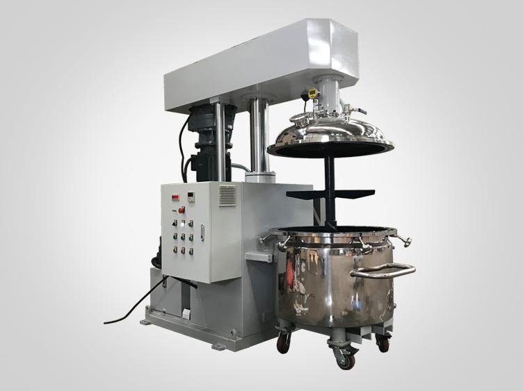 300L epoxy glue making machine vacuum mixer